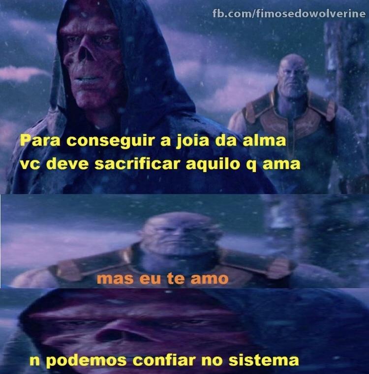 Opora o sistema tá meio estranho SIGO DE VOLTA ——> - meme