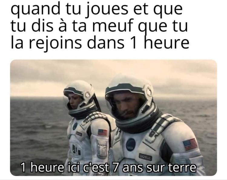 Espace - meme