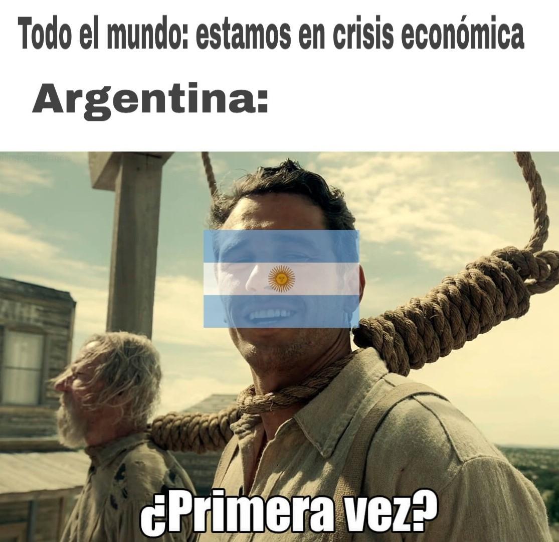 Crisis económica - meme