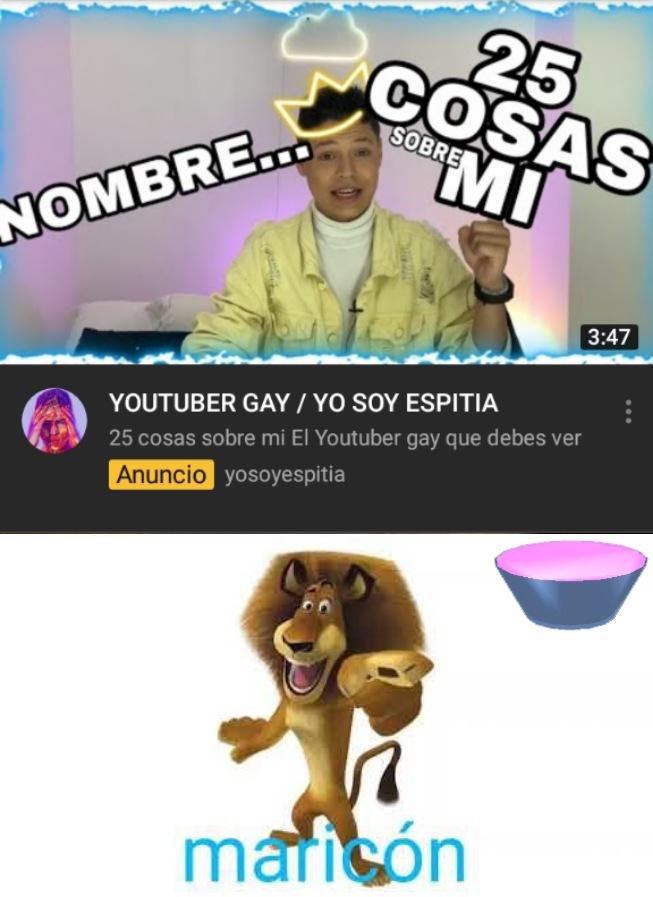Jaja qué gay - meme
