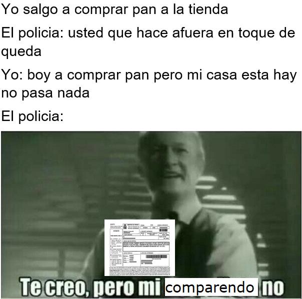 solo en colombia - meme