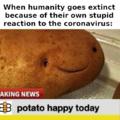 bee happy potato