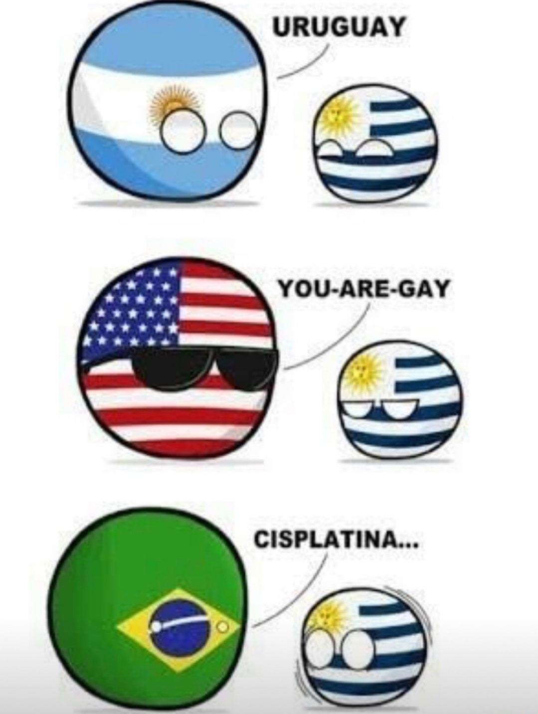 Nossa pequena guerra latina - meme