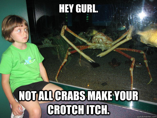 Sexy crab - meme