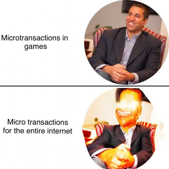 ajit pai needs to ajit die... - meme