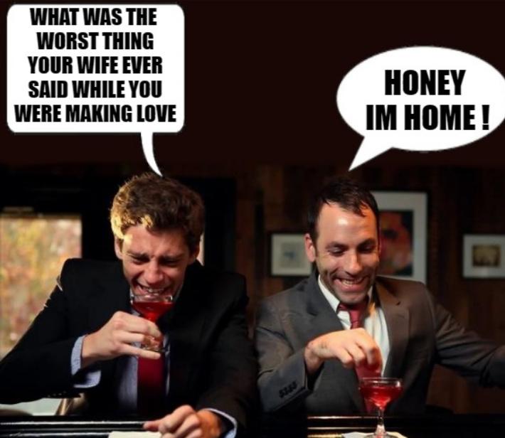 At the bar - meme
