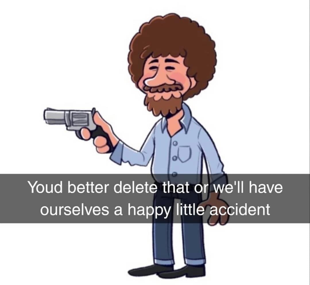 The Happiest Accident - meme