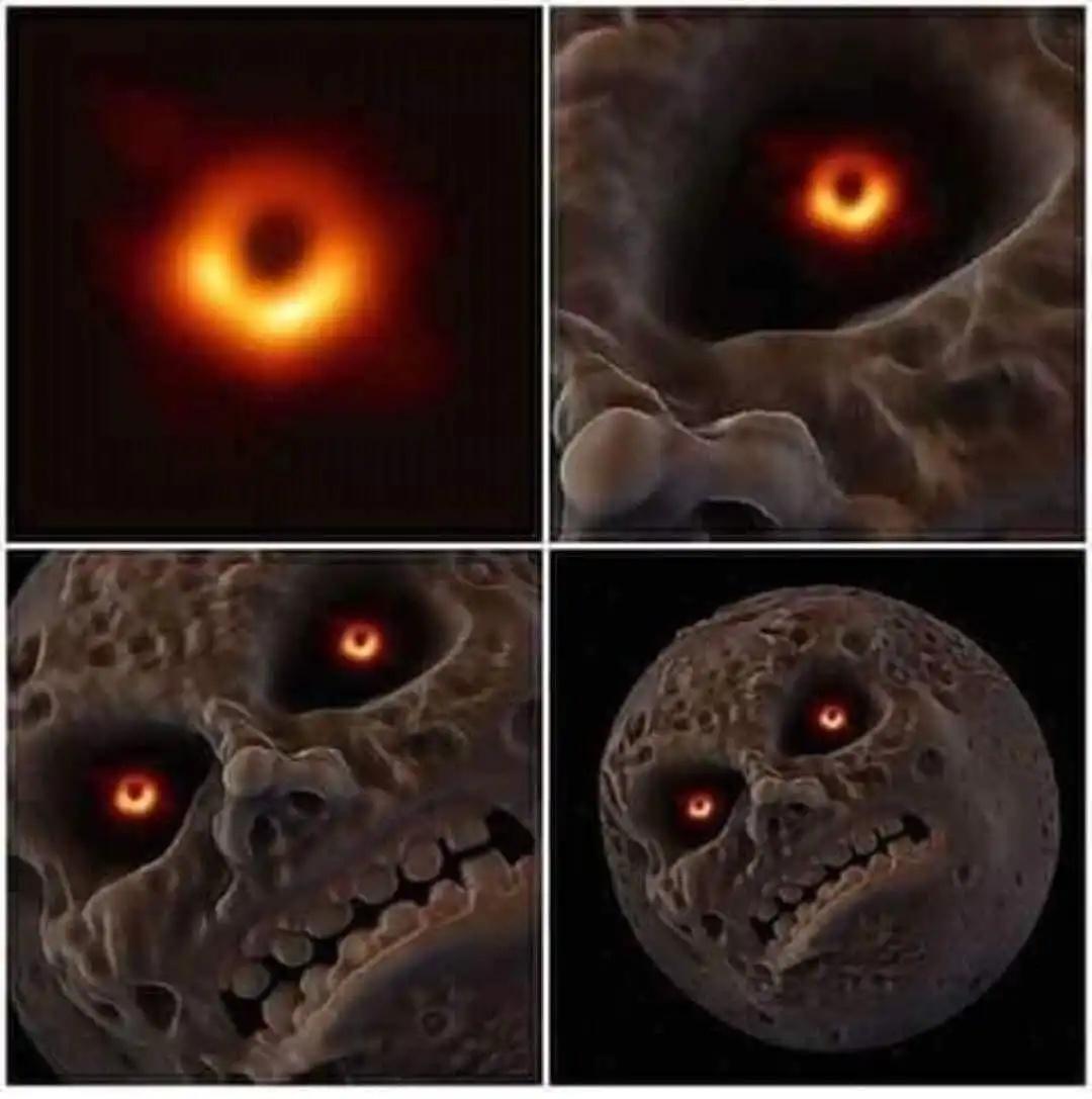 Hasard d'un trou noir - meme