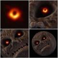 Hasard d'un trou noir