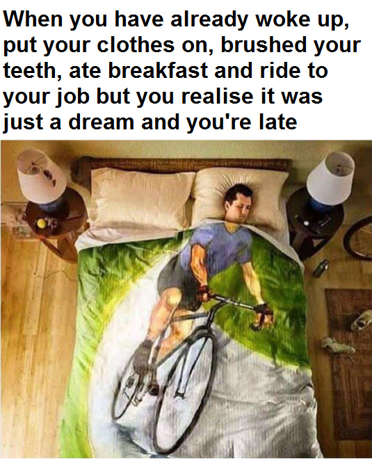 I want to ride my bicycle... - meme