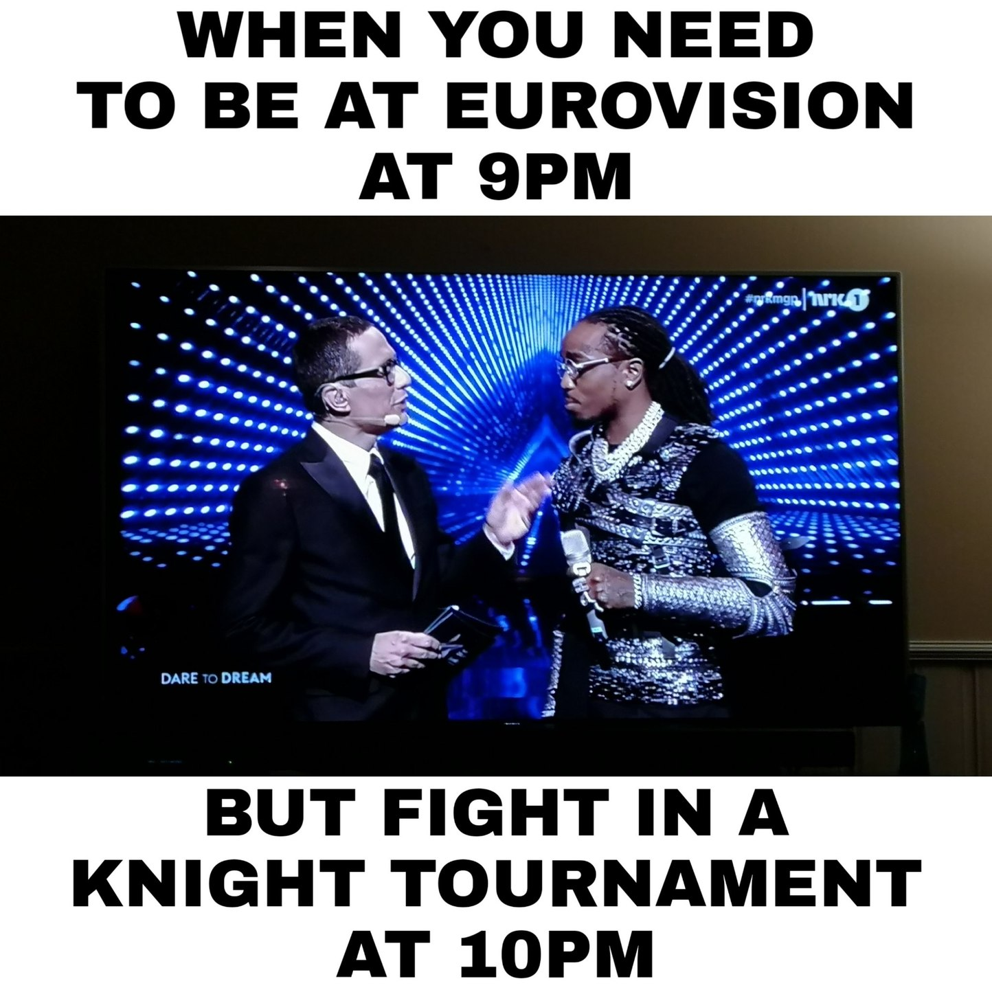 Fabulous knight - meme