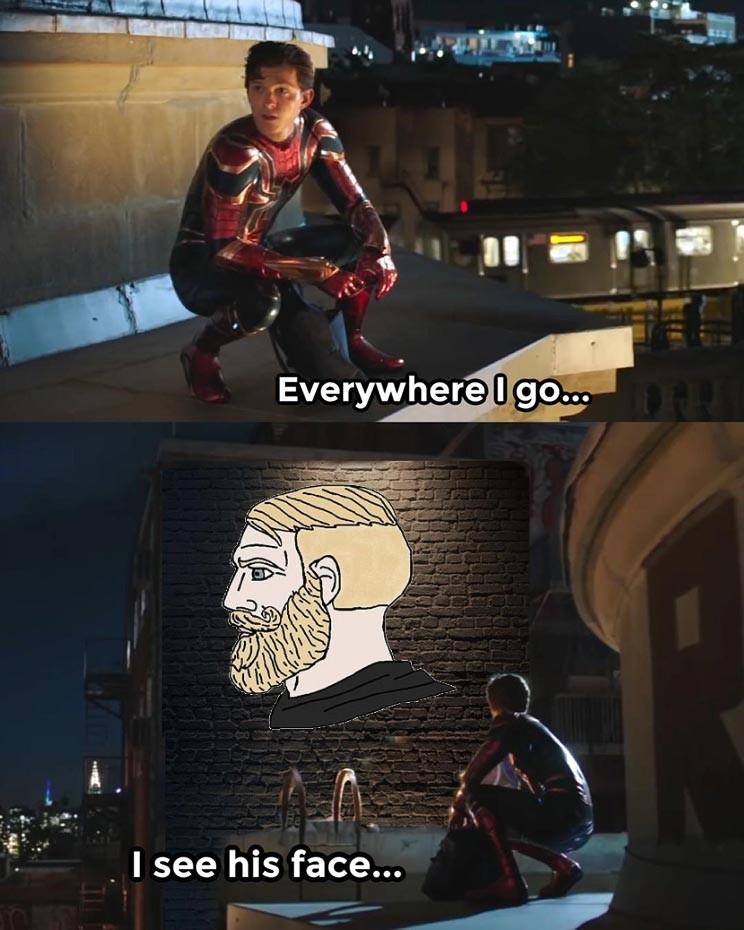 O chad nunca morrerá - meme