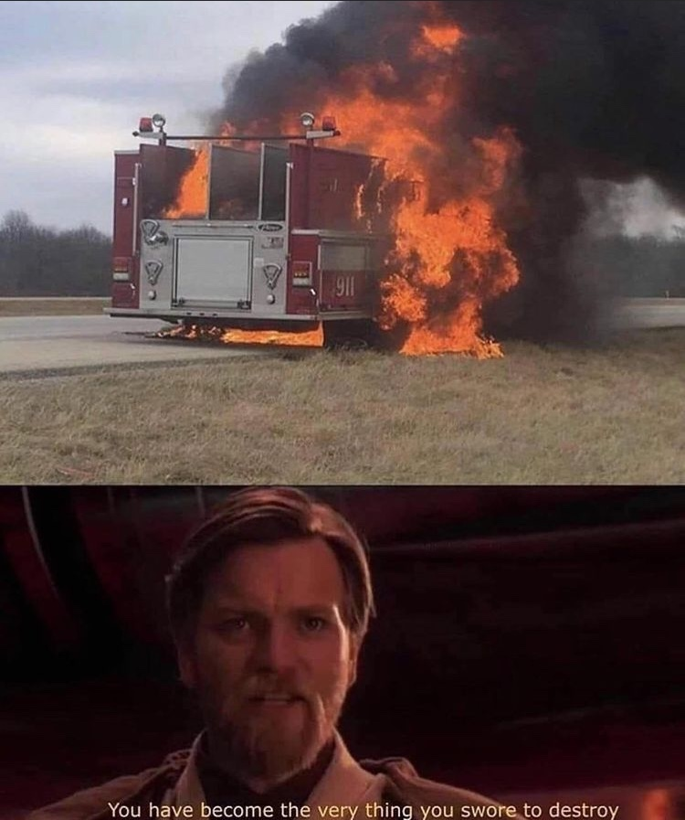 fire truck - meme