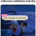 the ocean is thirsty