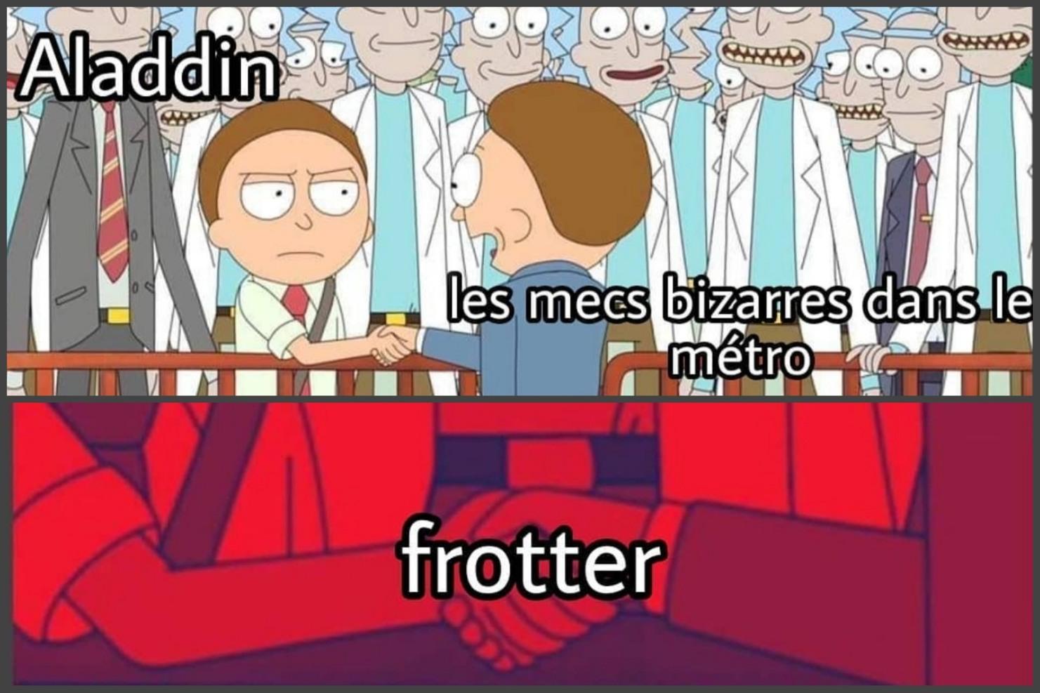 Casseurs frotteurs - meme