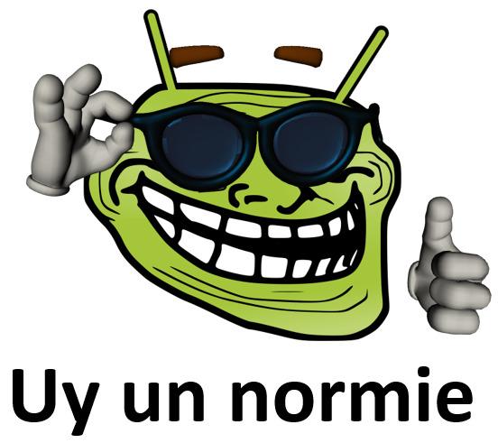 Uy un normie - meme