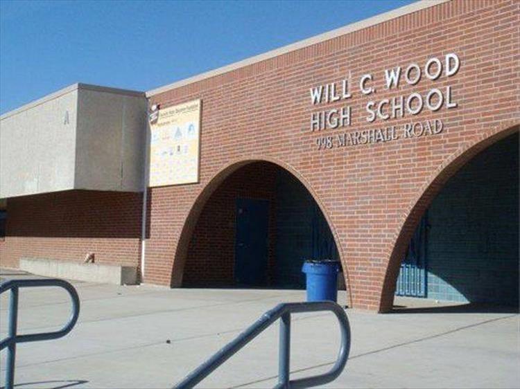 Unfortunate name for a Highschool - meme