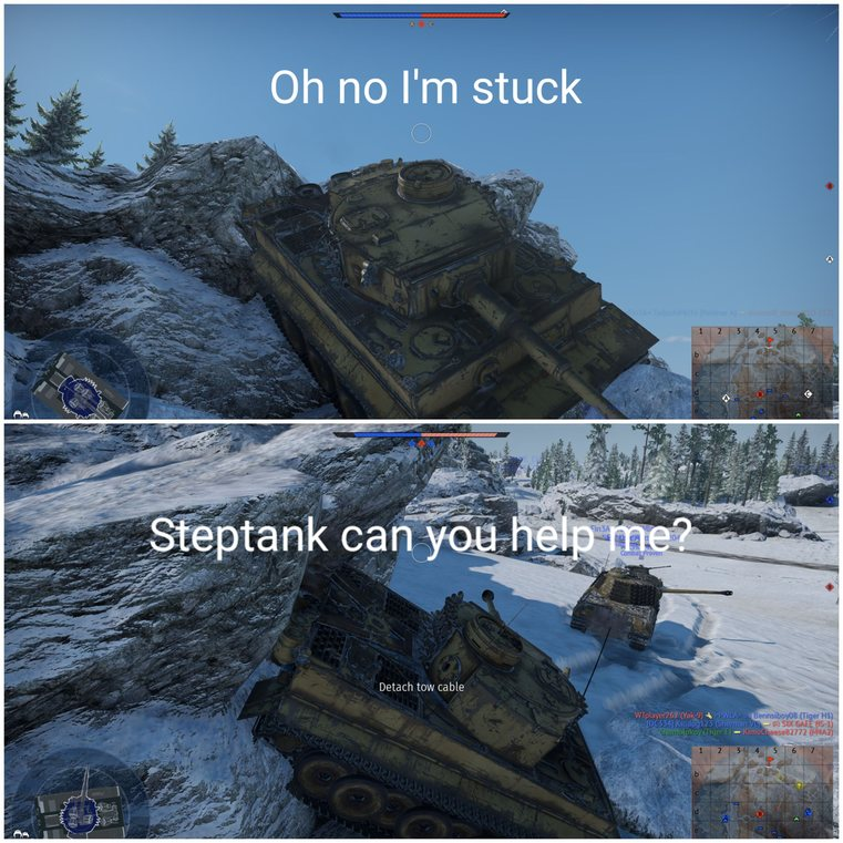 Steptank - meme