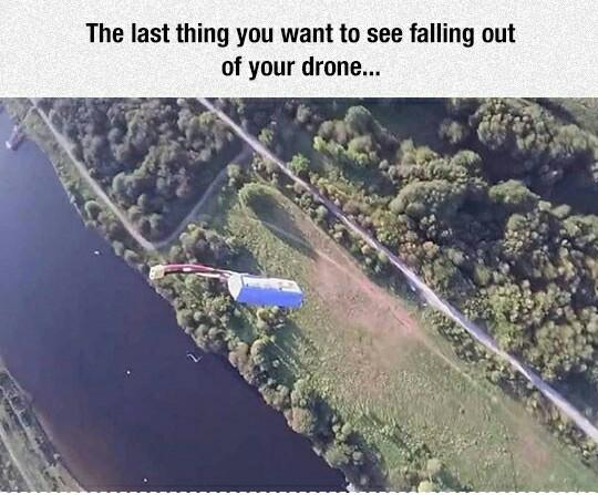 RIP Drone - meme