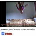 paralizando eu mesmo em honra ao stephen hawking