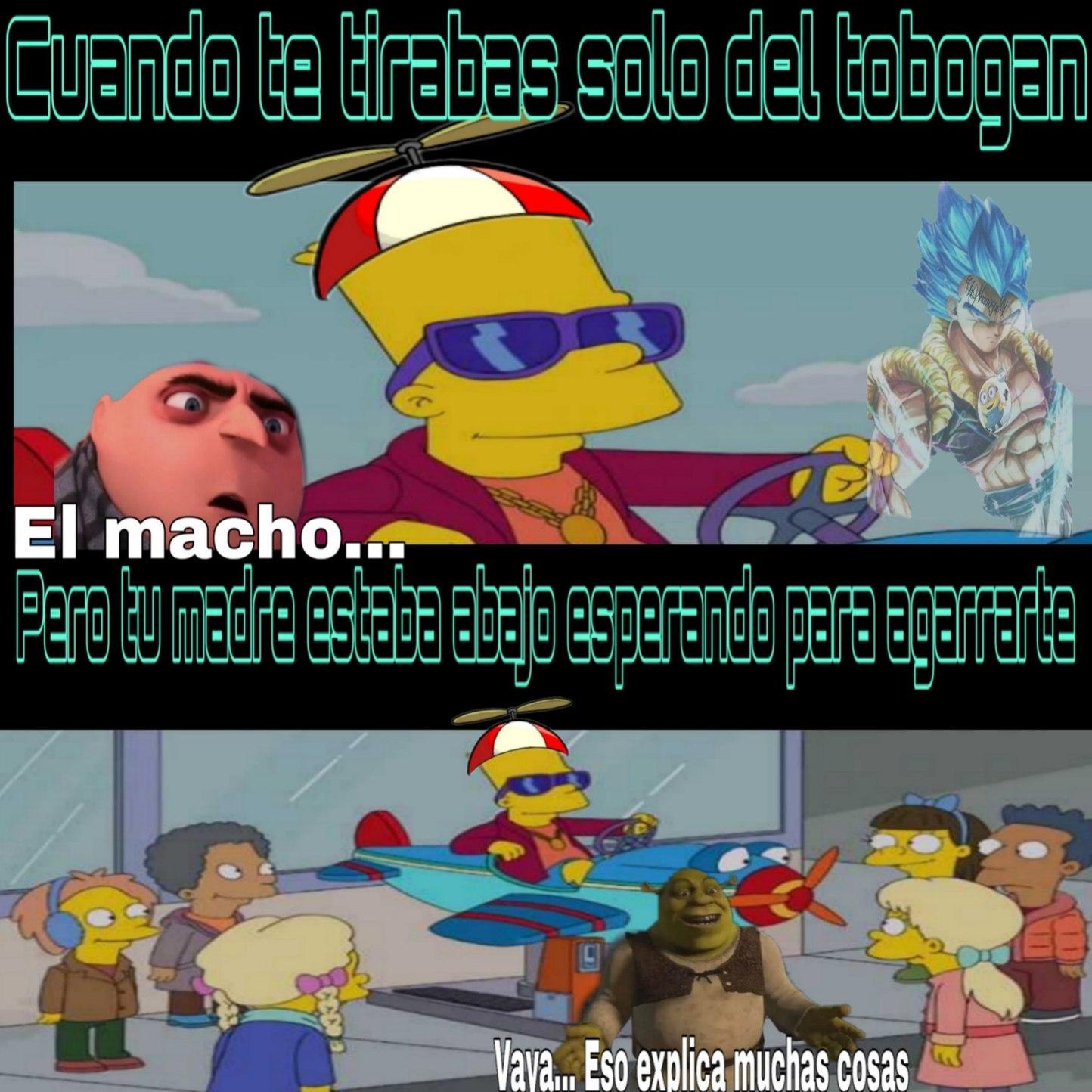 Los Simpsons - meme