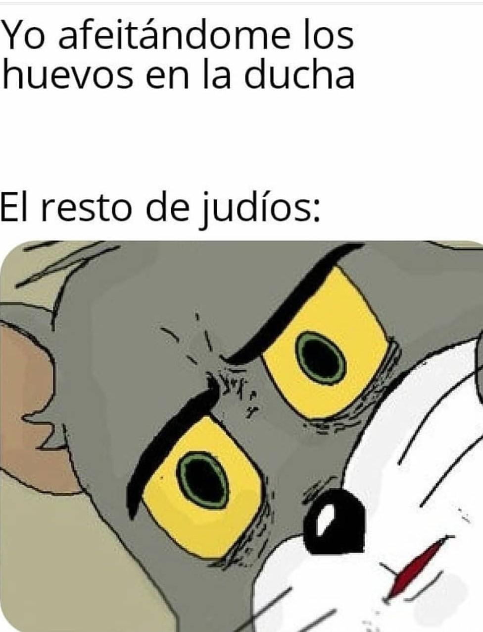 Judios - meme