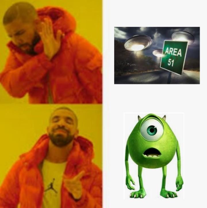 Qien necesita al Área 51 - meme