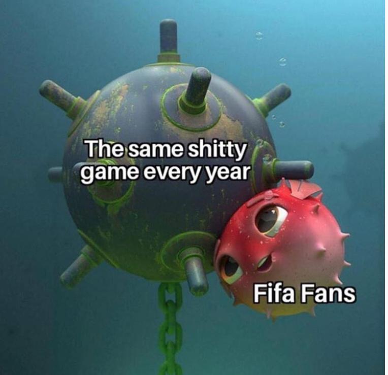Fifa is gay - meme
