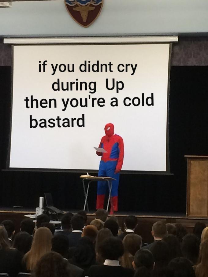 That shit sad man - meme