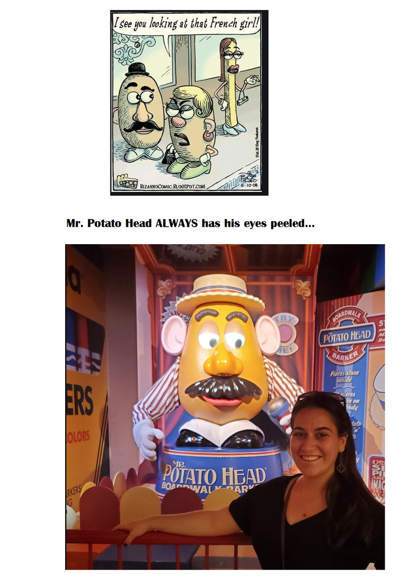 Mr. Potato Head! - meme