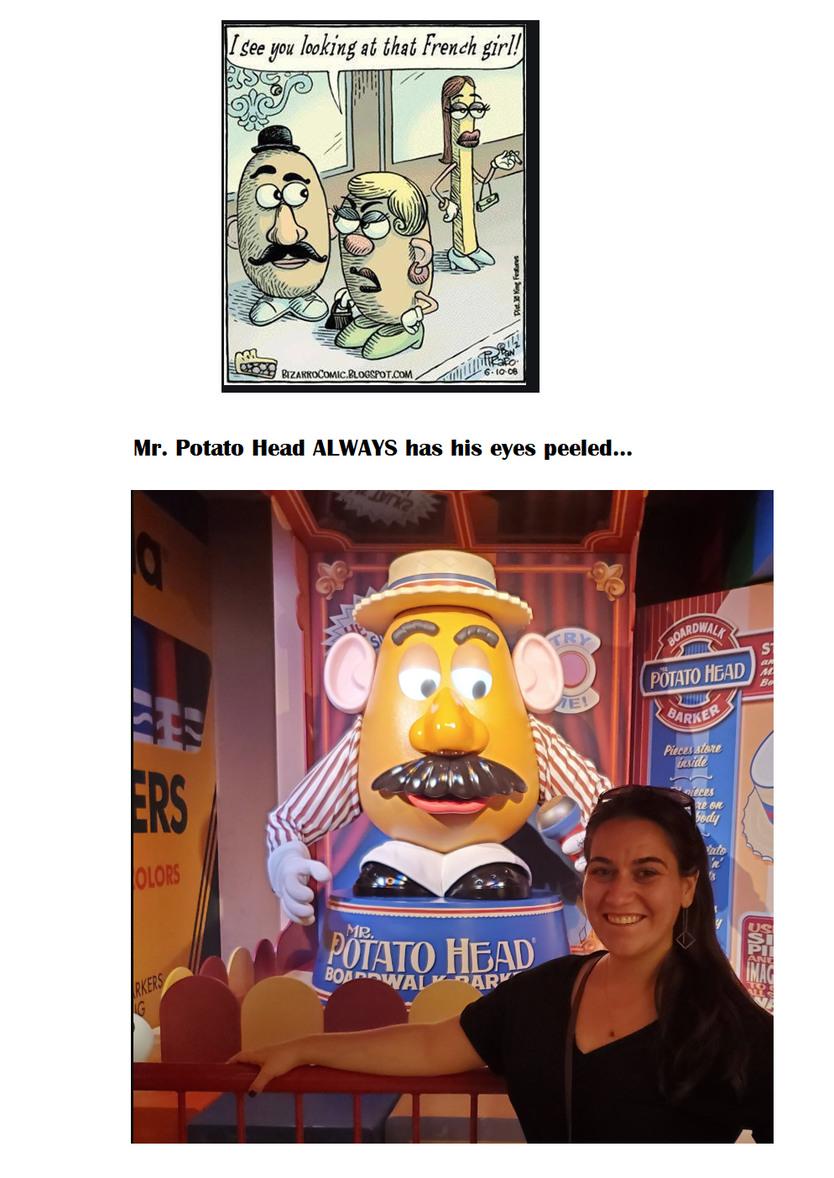 Mr. Potato Head! - meme