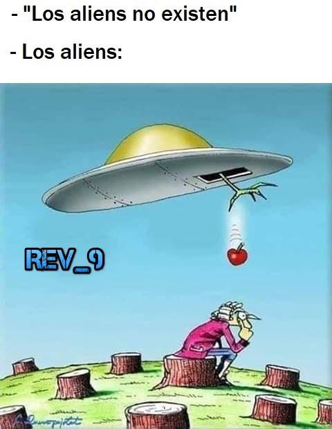 esos alien pillos - meme