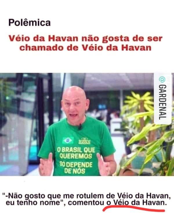 O Véio da Havan - meme