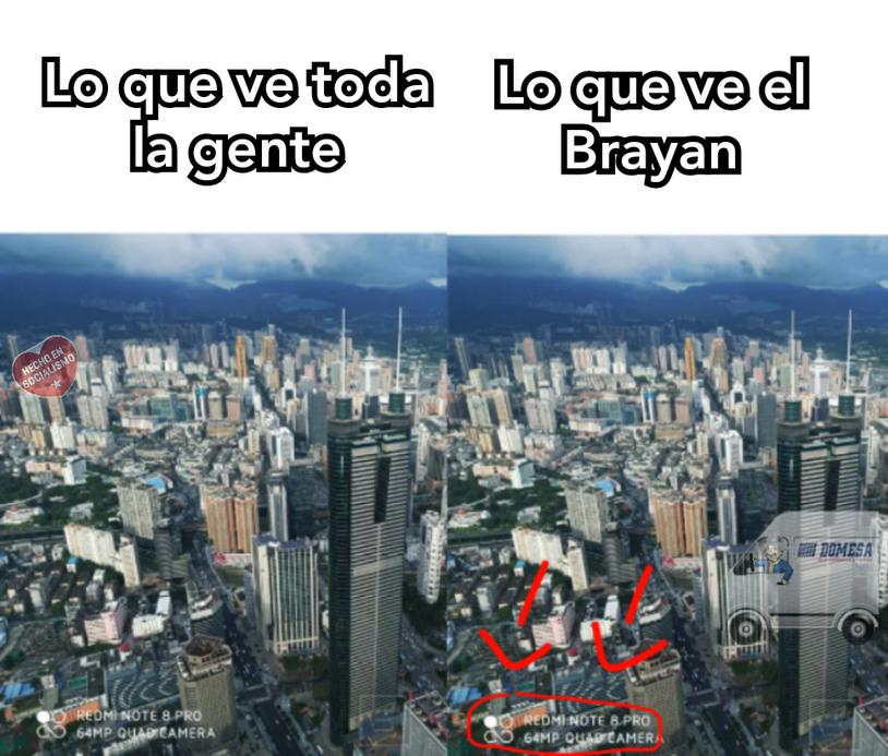 El Brayan es todo un loquillo - meme