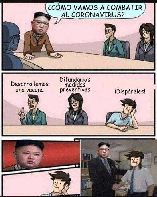 Un capo el Kim - meme