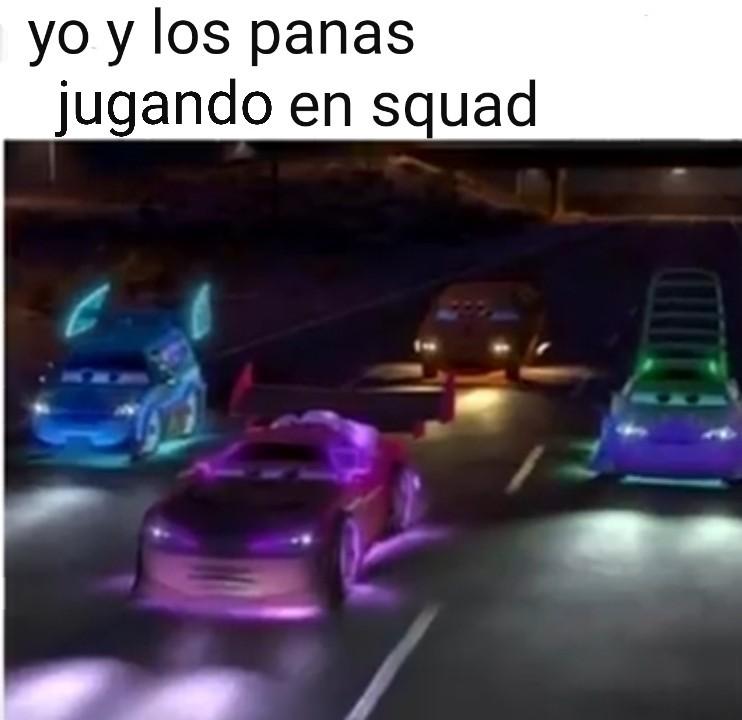 Ese squad esta mamadisimo - meme
