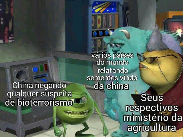 Essa China gosta de aprontar - meme
