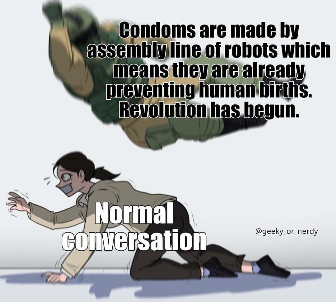 The revolution has begun - meme