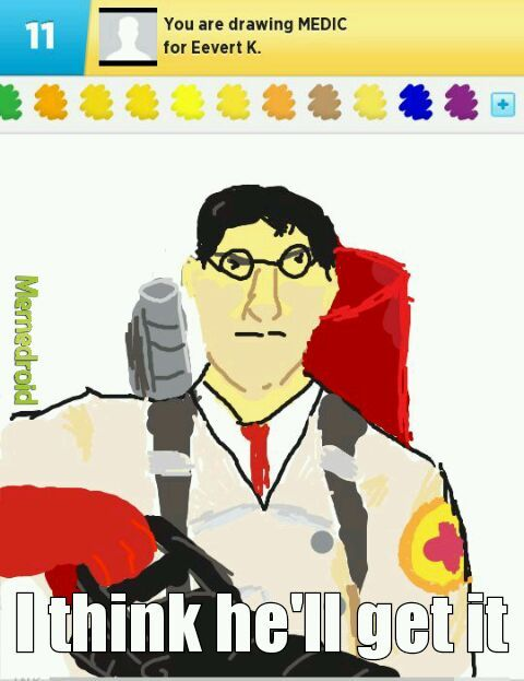 Game: draw something - meme