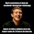 Mark Zuckerberg vai ser dono do meu dia