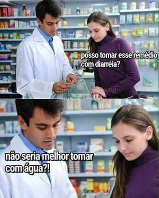 MOÇA, TOME COM ÁGUA PFV - meme