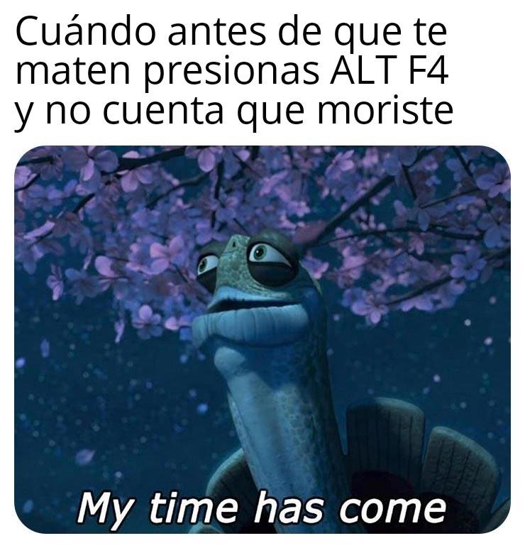 Las tácticas - meme