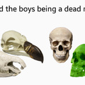 Me and the boys being a dead meme