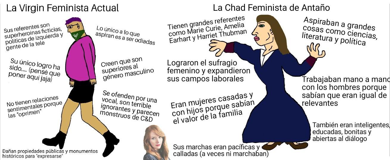 Mi primer Virgin vs Chad - meme