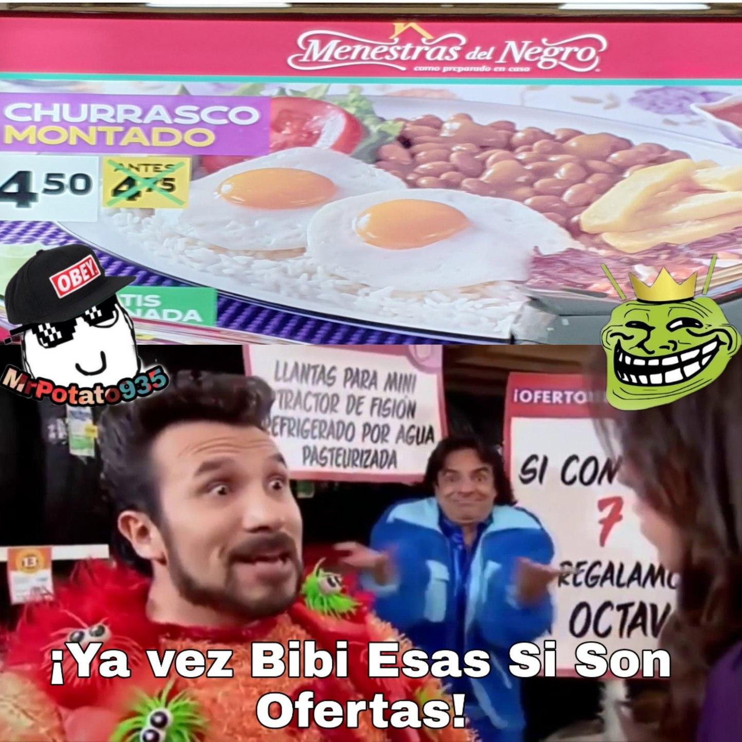 Solo en Ecuador - meme