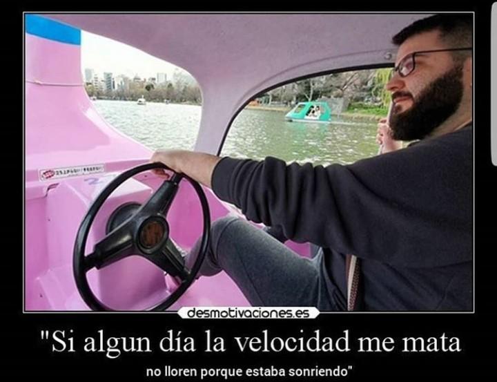 Velocidad - meme