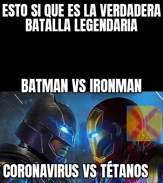 Batman Vs Ironman - meme