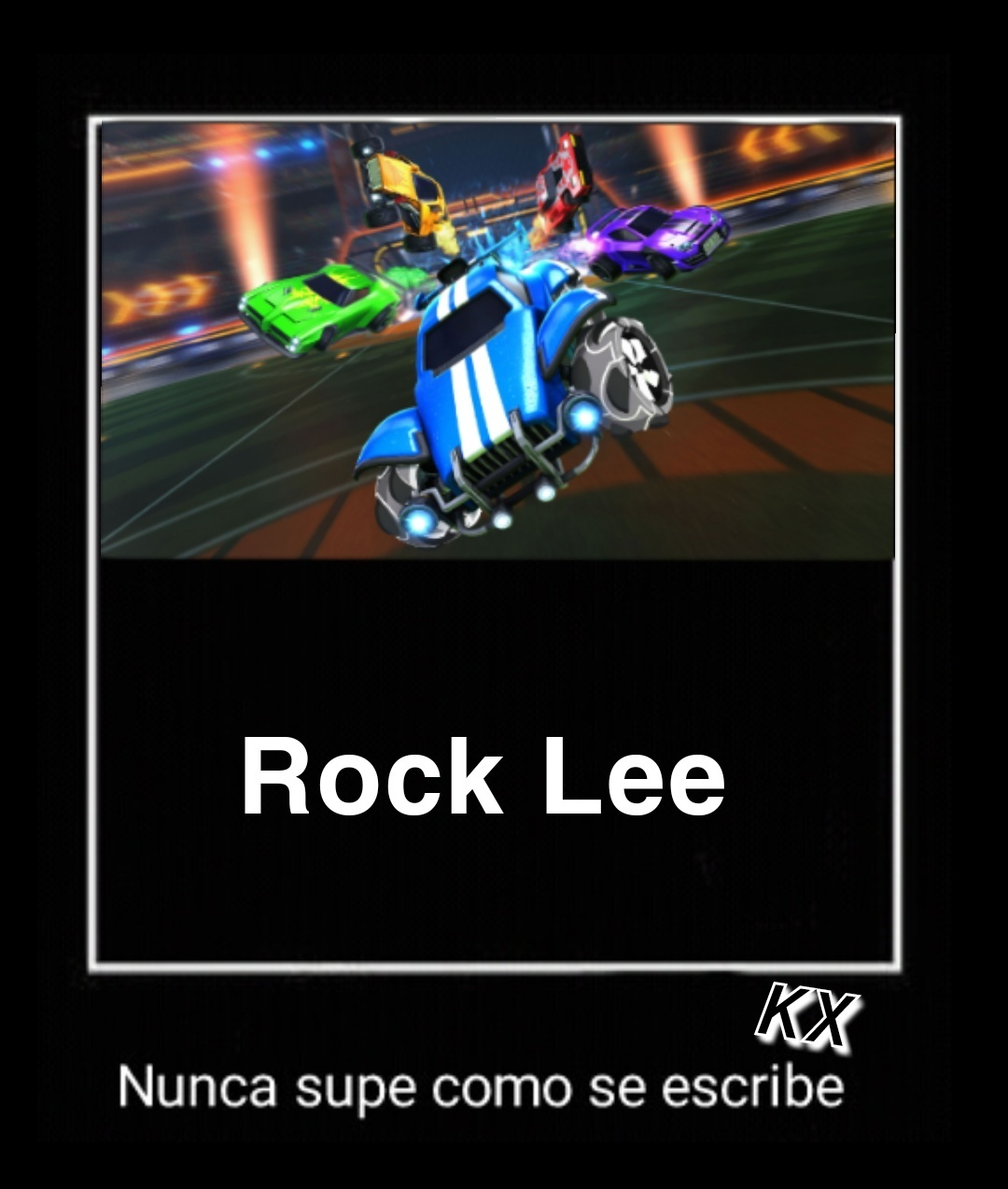 Un capo Rock Lee - meme