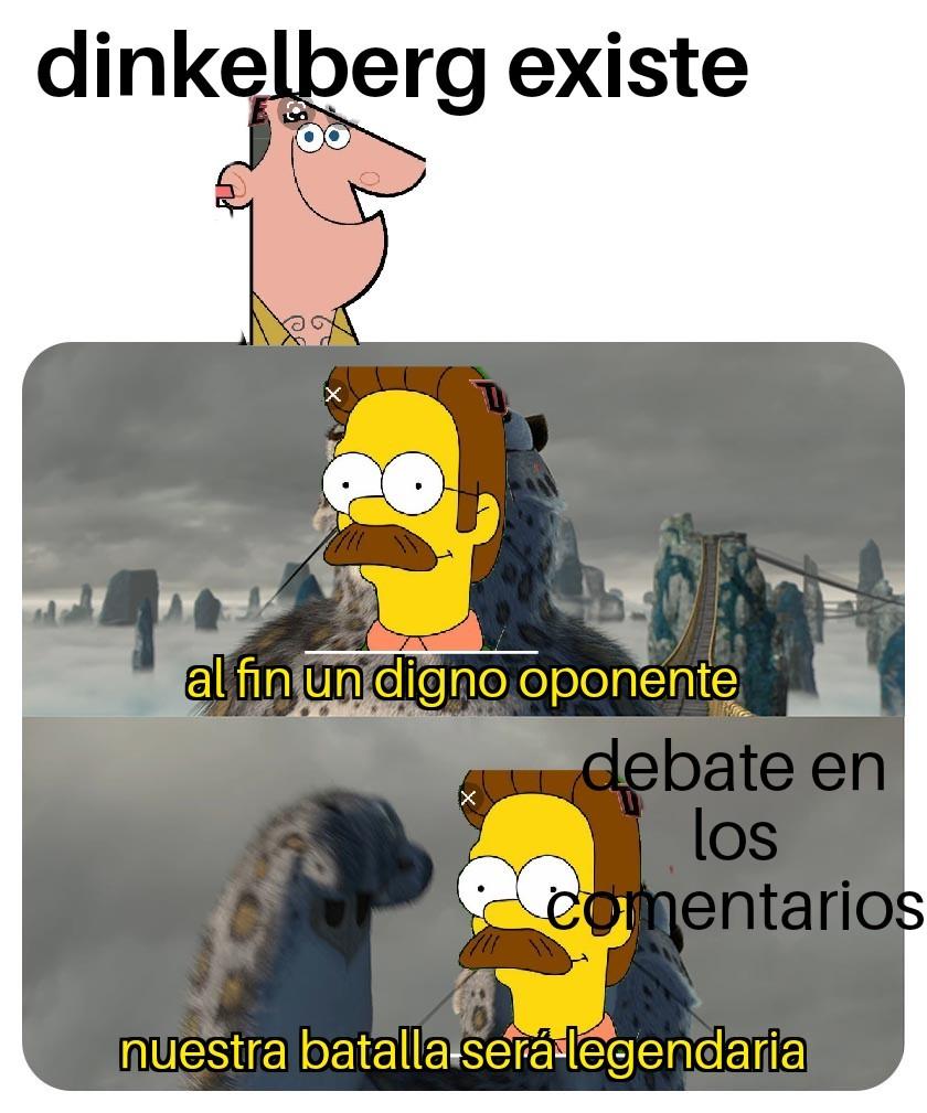 Flanders vs dinkelberg - meme