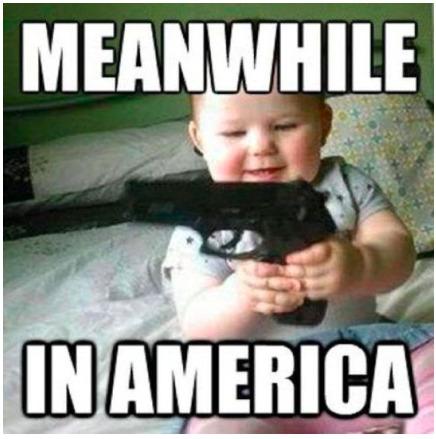 I love guns - meme